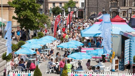 Scenes from Norwich Food & Drink Festival 2017 (Picture: Archant)