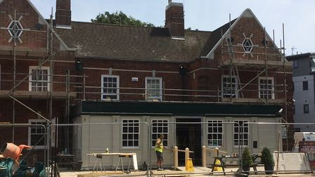 The Woolpack, in Golden Ball Street is currently undergoing a major refurbishment. Picture: Sabrina