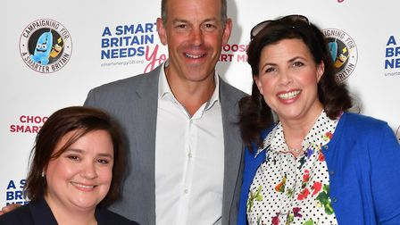 (From left to right) Susan Calman, Phil Spencer and Kirstie Allsopp. Photo: Getty Images
