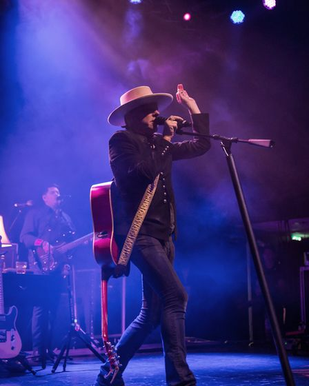 Kiefer Sutherland headlining The Nick Rayns LCR in Norwich on Friday 22nd June 2018. Photo: Danielle