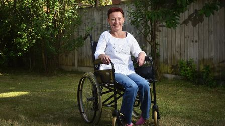 Emma Ives, who has multiple sclerosis, is hoping to raise money, with help from her friends and fami