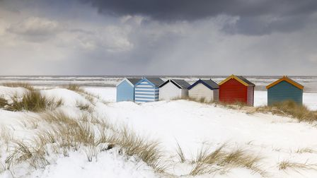 Snow in the Dunes by Justin Minns. Picture: JUSTIN MINNS