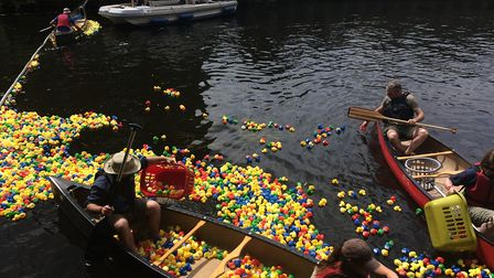 The Great Norwich Duck Race 2018. PHOTO: Sophie Smith