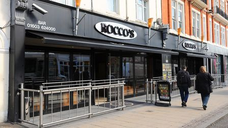 An archive picture of Rocco's Bar on Prince of Wales Road, Norwich, which will reopen as a new club