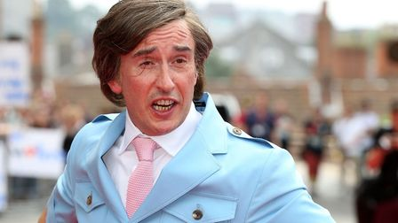 Comedian Steve Coogan, as his alter-ego Alan Partridge, attends the world premiere of his new film A