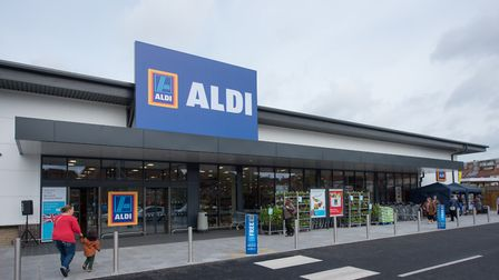 The Aldi store on Drayton Road. Photo : Steve Adams