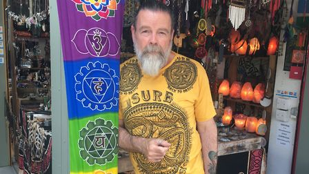 Ron Fyfe, of Sixth Scents on Norwich Market. Photo: Emily Thomson