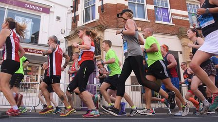 Everyone has their own story to tell why they run. Picture: Archant