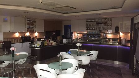 Cafe Pure at the NNUH. Photo: The Chill Bar Company
