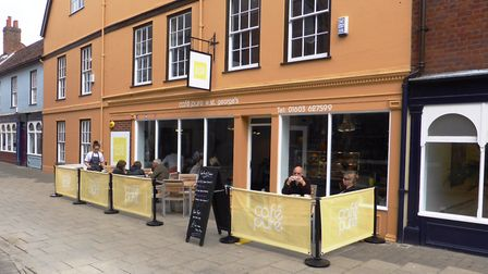 Cafe Pure at St George's Street in Norwich. Photo: Carl Mann
