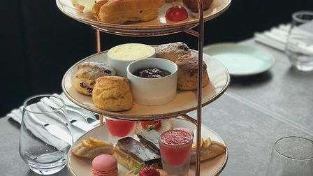 Afternoon tea at Norwich's Rooftop Gardens