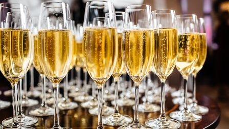 Glasses of prosecco. Picture: Getty Images/iStockphoto
