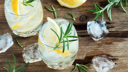Glasses of a gin and tonic cocktail. Picture: Getty Images/iStockphoto