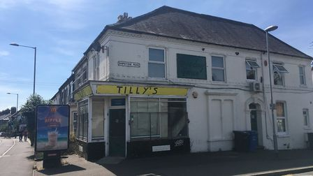 The former Tilly's second-hand furniture store on the corner of Magdalen Road and Shipstone Road in