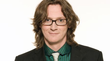 Ed Byrne headlined Laugh in the Park in Norwich last night