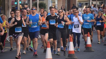 Extra water will be provided to runners at Run Norwich 2018. Picture: Archant