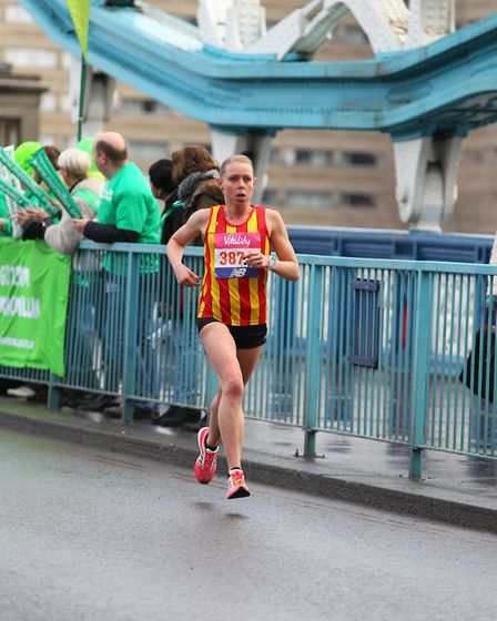 Dani Nimmock won the Greater Manchester Marathon earlier this year. Picture: The Big Half