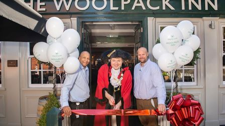 The Woolpack Inn was reopened by The Mayor of Norwich last Thursday. Picture: Greene King