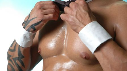 Male stripper. Picture: Getty Images/iStockphoto