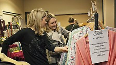 Shoppers enjoying a previous Fasion Re:Boot pre-loved sale at Norwich. Picture: EMILY GRAY PHOTOGRAP
