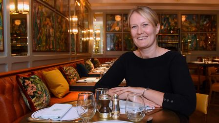 The general manager of The Ivy Brasserie in Norwich, Katie Miller. Picture: DENISE BRADLEY