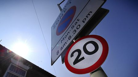 Hundreds more Norwich streets could see 20mph limits. Photo: Antony Kelly.