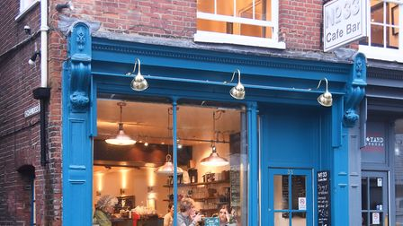The No 33 Cafe Bar in Norwich. Picture: Ian Burt
