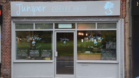 Juniper Coffee Shop, an environmentally friendly, gluten free and vegan newly opened in St Stephen's