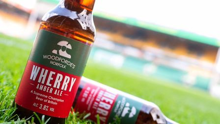 Woodforde's Brewery's flagship brew – Wherry Amber Ale – makes its first-ever appearance in plastic