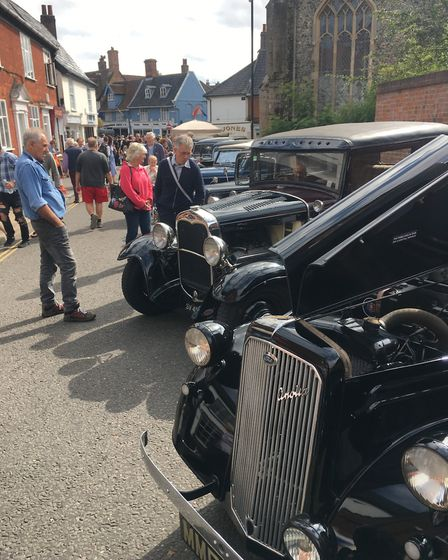 More than 140 classic vehicles featured at Wymondham Vintage Day. Picture: Simon Parkin