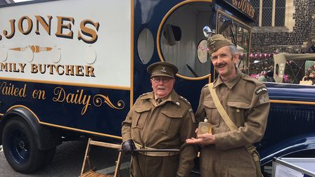 The butcher van from Dad's Army at Wymondham Vintage Day. Picture: Simon Parkin