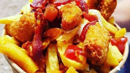 Chicken nuggets and bacon Picture: The Bucket List