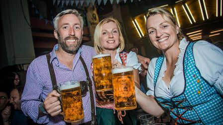 The Real Oktoberfest at OPEN, Norwich 2017. Photo credit: Simon Finlay Photography