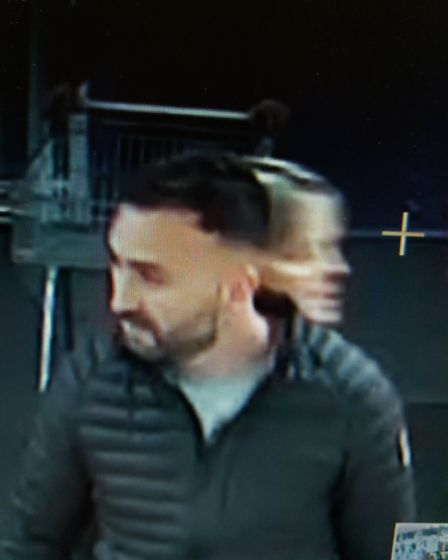 Police have released CCTV images after alcohol was stolen from two supermarkets in Norwich. Picture