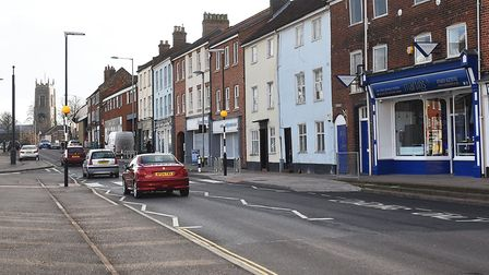 Police are appealing for witnesses following a collision on Ber Street, Norwich. Picture: ANTONY KEL