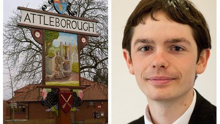 More than 4,500 new homes are to be built in rapidally expanding Attleborough. County councillor for