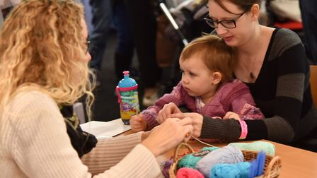 A scene from last year's Parent and Baby Show. Picture: SONYA DUNCAN