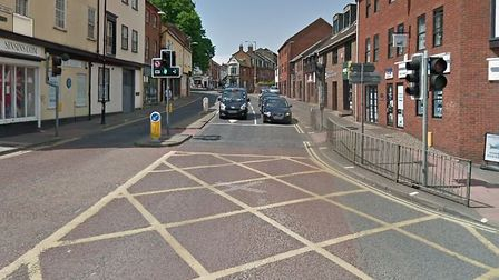 St Andrews Street at its junction with Duke Street. Picture Archant.