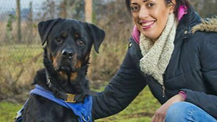 Isabella McBride, dog trainer, is bringing a new seminar for professionals to South Norfolk. PHOTO:
