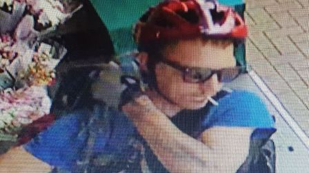 Police have issued a CCTV image of a man they want to identify following a theft in Norwich. Picture