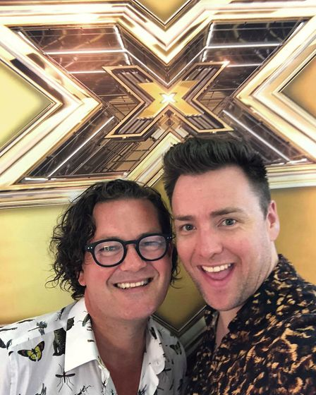 Kenny Moore and Chris Thomas Nicoll auditioned for the 2018 series of The X Factor