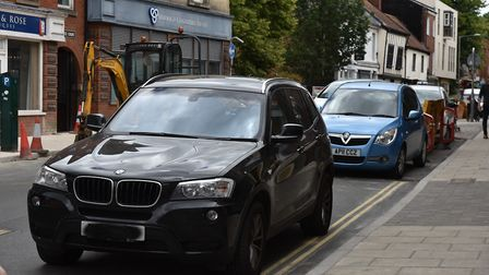 A reader thinks that the pavements in Norwich aren't safe. Photo: Sonya Duncan