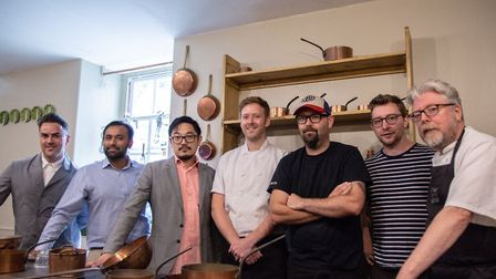 Creative team for Gastronomic including chefs at The Assembly House, Benedicts, Namaste and Shiki Cr