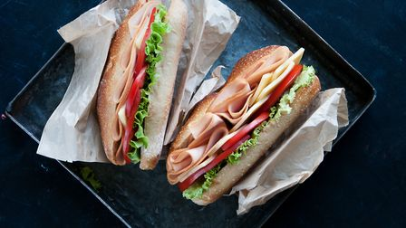 Turkey and cheese sub sandwich. Photo: Getty Images/iStockphoto