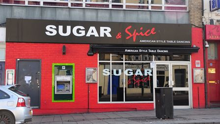 Sugar and Spice American Style Table Dancing, Prince of Wales road, Norwich.Photo by Simon Finlay.