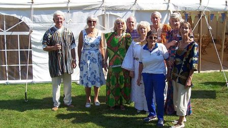 The Wulugu Project committee and supporters. Picture: Lynne Symonds