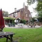 The beer garden at the Garden House in Pembroke Road, which is closing. Picture: DENISE BRADLEY