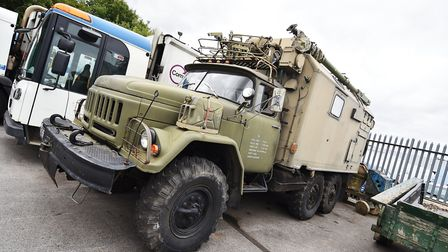 East Anglian Motor Auctions. The Zil 131 military vehicle.Picture: ANTONY KELLY