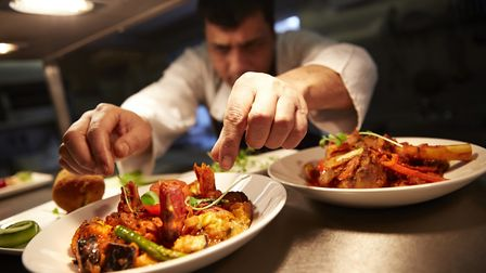 Tamarind Fine Indian Dining at Blofield is up for two awards at the English Curry Awards. Picture: