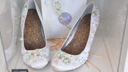Shoes by Milly J. Photo: Sonya Duncan